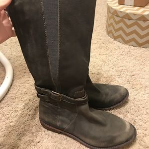 Lucky Brand Gray riding boots